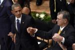 """Dallas, Obama ai funerali delle vittime: """"Il razzismo non è finito"""""""