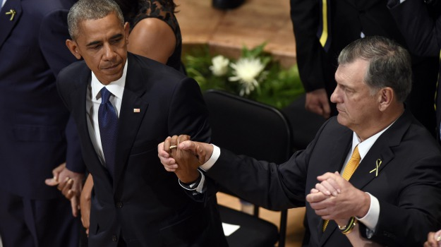 strage di Dallas, Barack Obama, Sicilia, Mondo