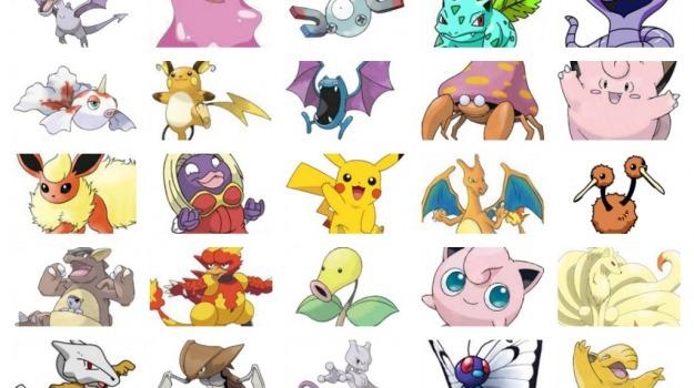 Pokèmon go ecco tutti i personaggi disponibili foto