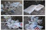 Rifiuti, erbacce e materassi abbandonati: degrado a Motta Sant'Anastasia - Foto