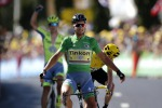 Tour de France, vince Sagan. Froome attacca e rimane in giallo
