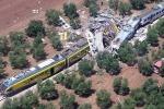 Scontro fra treni, Delrio e Renzi sul luogo del disastro: tragedia immane