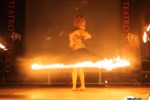 Spettacolo a Palermo, in scena il teatro del fuoco