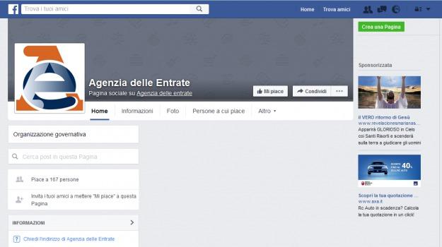agenzia delle entrate, canone rai, facebook, facebook messenger, fisco, Sicilia, Economia