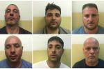Catania, spaccio di droga: sei arresti - Nomi e Foto