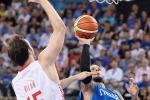 Basket, ko con la Croazia: Italia fuori dai Giochi di Rio