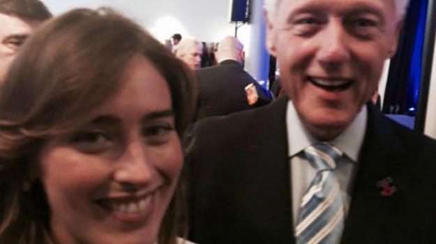 selfie, Bill Clinton, Maria Elena Boschi, Renato Brunetta, Sicilia, Mondo