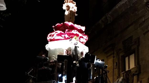 Festino, santa rosalia, santuzza, Palermo, Cronaca