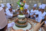 Maxi cassata per San Calogero: la torta da 300 chili ad Agrigento