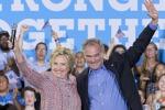 Hillary Clinto e Tim Kaine