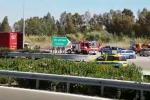 Schianto mortale contro un tir posteggiato, le immagini dalla Palermo-Mazara del Vallo- Video