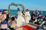 La cerimonia alla rotonda di Avola