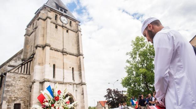 cattedrale palermo, comunità islamica, imam, musulmani in chiesa, Palermo, Rouen, terrorismo, Sicilia, Cronaca