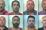 Mafia, retata a Menfi: otto fermi - Nomi e foto