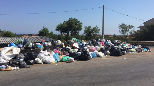 rifiuti carini, rifiuti torretta, smaltimento rifiuti, Palermo, Cronaca