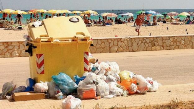 emergenza rifiuti, san vito, Trapani, Cronaca