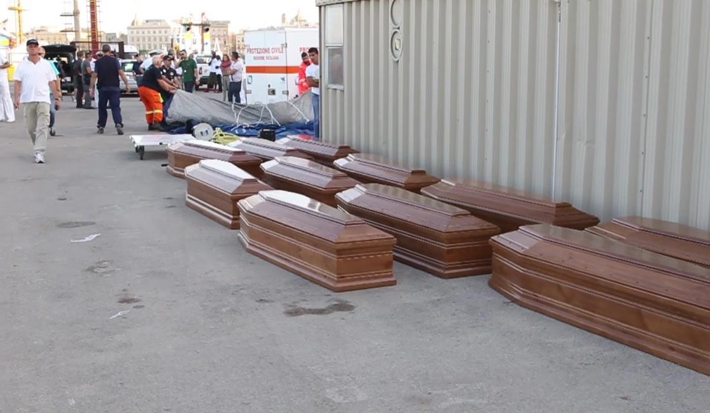 A trapani 209 profughi e 22 morti il prefetto: mancano loculi