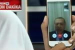 Golpe in Turchia, videomessaggio di Erdogan: resistete
