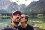 Ambra Angiolini, vacanza d'amore con il nuovo fidanzato Lorenzo - Foto