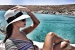 La siciliana Francesca Chillemi vola in Grecia per la sua prima vacanza da mamma - Foto