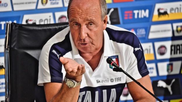 Calcio, italia, nazionale, Giampiero Ventura, Sicilia, Sport