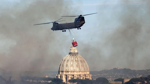 emergenza incendi roma, Sicilia, Cronaca