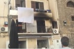 Scoppia il rogo in casa, paura in due quartieri a Palermo - Video