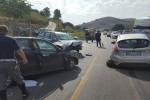Scontro sulla Palermo-Agrigento, tre vetture coinvolte: un ferito grave - Foto