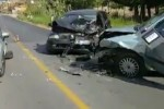 Scontro sulla Palermo-Agrigento, in un video le tre auto coinvolte
