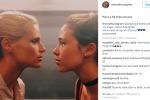 Michelle Hunziker faccia a faccia con la figlia Aurora: la foto è virale