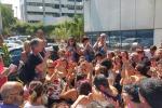 Protesta degli insegnanti a Palermo: dalla Sicilia ci sarà un esodo