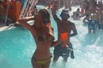 Paola Caruso, la Bonas della tv in vacanza ad Ibiza col fratello della Arcuri: le foto