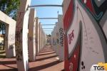 Palermo, incuria nella pista di pattinaggio di via Mulè
