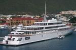 """A Siracusa il """"Rising Sun"""", uno dei 10 yacht più grandi al mondo"""