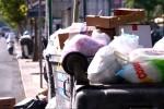Rifiuti, raccolta a rilento in viale Strasburgo - Video