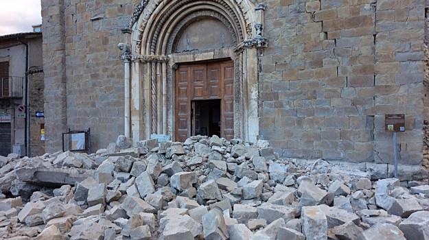 terremoto amatrice, Sicilia, Cronaca