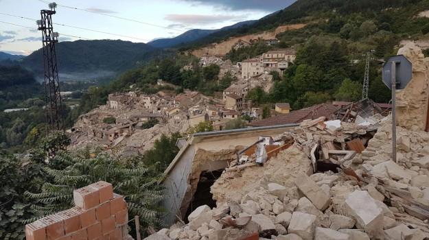 amatrice, governo, terremoto, Sicilia, Economia