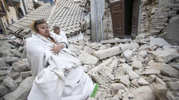 sisma, solidarietà, trapani, Trapani, Cronaca