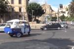 Cantiere aperto al Foro Italico, traffico a rilento