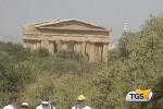 Exploit continuo di visitatori alla Valle dei Templi
