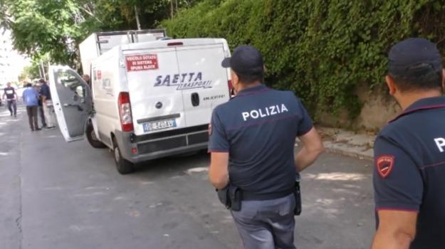 assalto portavalori, Palermo, Cronaca