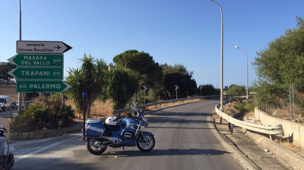 incidente Palermo-Mazara del Vallo, Palermo, Cronaca