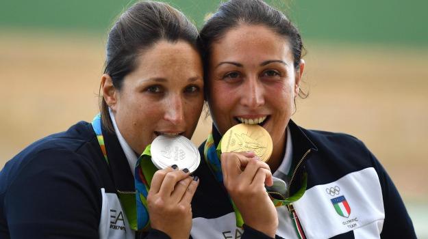olimpiadi, rio 2016, skeet donne, tiro a volo, Sicilia, Sport