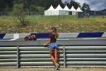 Visita fortunata perAndrea Iannone, nei box del Gp d'Austria c'è Belen - Foto