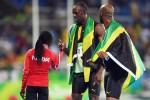 Bolt centra la tripletta e il 9° oro, successo anche nella 4X100
