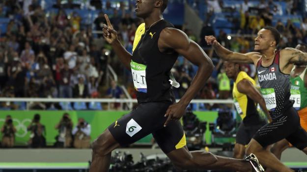 Usain Bolt, Sicilia, Sport