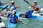 Squadra italiana under 21 di Canoa Polo