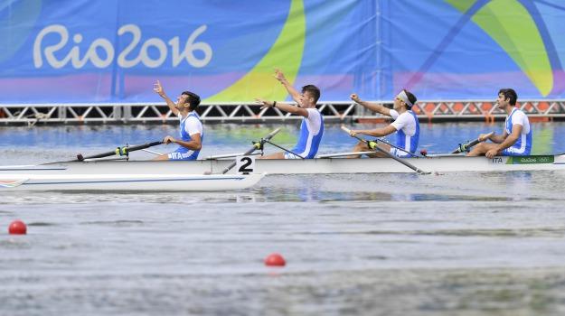 4 senza, canottaggio, olimpiadi, rio 2016, Sicilia, Sport