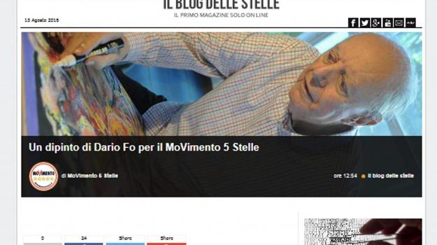 m5s, Beppe Grillo, Dario Fo, Maria Elena Boschi, Sicilia, Politica