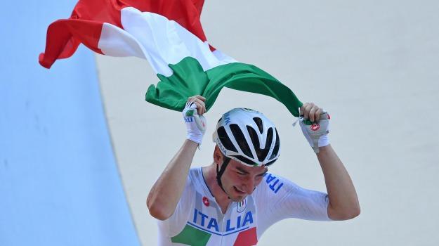 ciclismo su pista, olimpiadi, oro, Sicilia, Sport